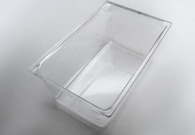 Caja acrílico cría ratón